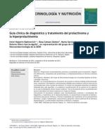 Prolactinoma Guia Clinica SEEN 2013
