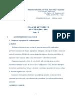 Plan de Activitate Sem. II