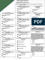 Nonpartisan primary ballot