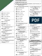 Republican primary ballot
