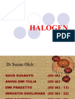 Halogen Power Point