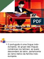 A importância da língua Portuguesa