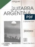 RODRIGUEZ LUIS - Guitarra Argentina_7 Guitar Solos