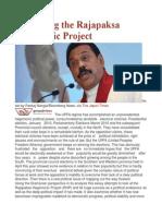Re-Visiting the Rajapaksa Hegemonic Project