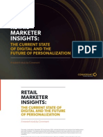 Conversant Retail Marketing Insights - The Current State of Retail and the Future of Personalization