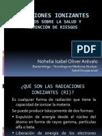 4. Radiaciones Ionizantes. Dra. Nohelia Oliver