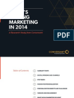 Conversant What's Driving Digital Marketing in 2014