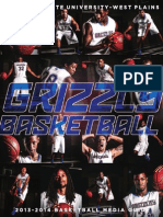 2013-2014 Grizzly Basketball Media Guide