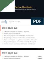 Conversant - Cross-Device Manifesto