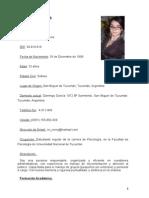 Curriculum Vitae Lillo