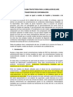 EL MODELO DE PLUMA TRAYECTORIA PARA LA SIMULACIÓN DE AIRE TRANSITORIOS DE CONTAMINACIÓN