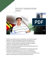 Conocimientos y Habilidades Del Ingeniero