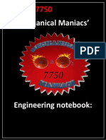 Engineering Notebook 22