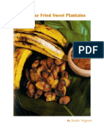 how to make fried sweet plantains
