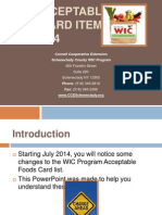 community - new food card items powerpoint
