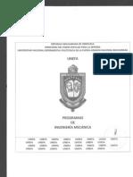 Programa Ing Mecanica Semestral 2009