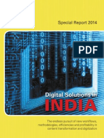 Digital Solutions in India, May 2014