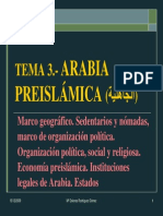 Tema 3. Arabia Preislamica