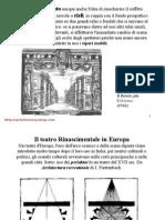 5 Storia Della Scenografia Il Rinascimento Parte B