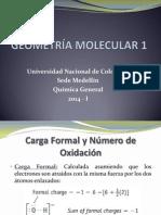 11. Geometría Molecular 1