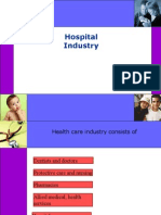 hospital as a service industry