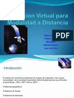 Educación Virtual Para Modalidad a Distancia