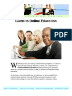 Guide to Online Education