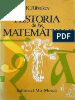 213663863 K Ribnikov Historia de Las Matematicas