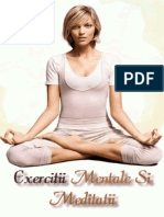 Exercitii Mentale Si Meditatii