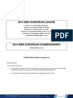 2014 BMX European League WEBSITE