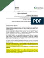 Melgarejo-Proyectos Para CdeC