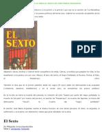 132994014 Resumen de La Obra El Sexto de Jose Maria Arguedas