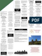 May 11, 2014 Worship Folder