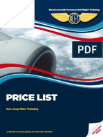 BCFT Price List 2014