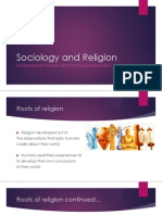 sociology and religion powerpoint