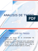 Saraí - Analisis de Tweed