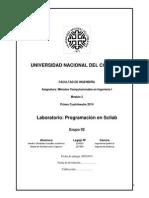 Programa Laboratorio Scilab Metodos 2014