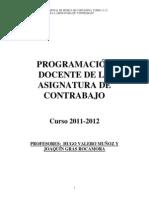 Programación Contrabajo