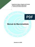 Manual de Macromedição
