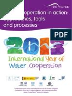 Www.zaragoza.es Contenidos Medioambiente Onu 1027 Eng Water Cooperation in Action