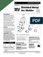 Campbell Hausfeld 70 amp stick welder
