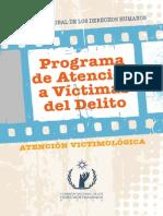 Programa de Atencion a Victimas Del Delito... ATENCION VICTIMOLOGICA... CNDH