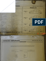 Fusca Catalogo Peças Sedan Vw 1300 1300L 1500 1600