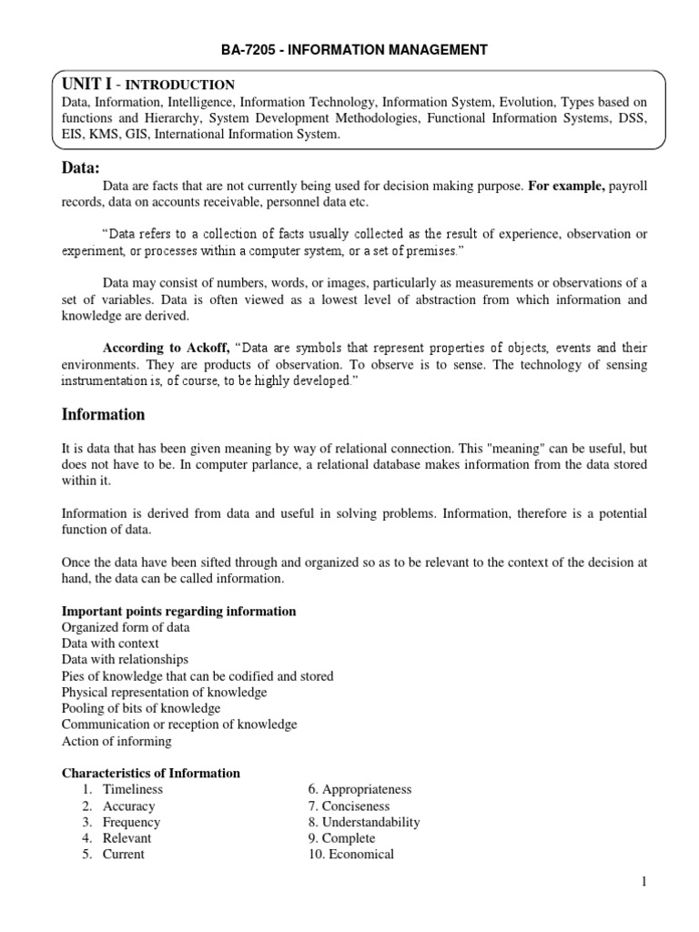 Ba7205 information management information system feasibility study biocorpaavc