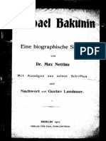 Michael Bakunin Eine biographische Skizze