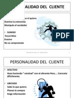 Personalidad Del Cliente - 2 Semana de Abril