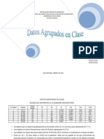 Datos Agrupados en Clase