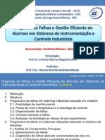 Diagnose de Falhas e Gestão de Alarmes Em Sistemas de Instrumentação e Controle Industriais