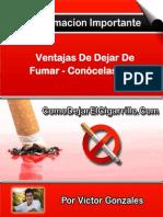 Ventajas de Dejar de Fumar - Conócelas Aquí