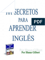 Shaun Gilbert - 101 Secretos Para Aprender Ingles (All) - Shaun Gilbert
